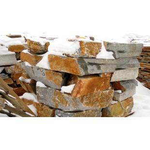 Природный камень Кварцит Карабашский бутовый